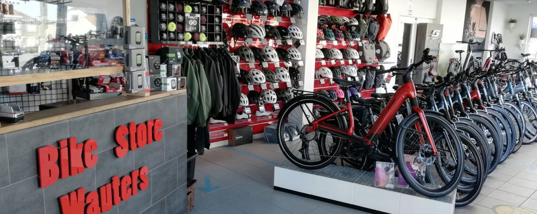 Binnenkijken bij fietsenwinkel Bike Store Wauters