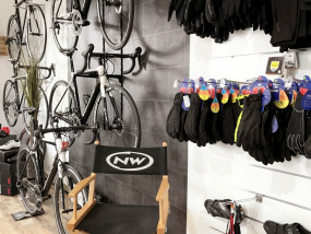 Bike Store Wauters Interieur